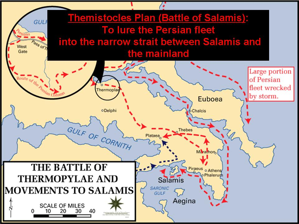 ancient leadership themistocles and salamis essay Relations between athens and sparta were inevitably strained by the circumstances under which the athenians had gained the leadership of the anti-persian alliance an ugly affair involving pausanias and themistocles, the victors of plataea and salamis respectively, oddly enough may have helped to.